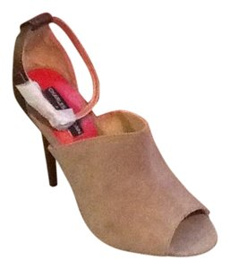 Charles Jourdan Brown / Taupe Pumps