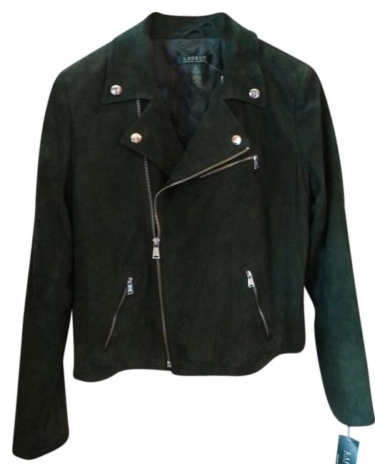 """Item - """"Emerald Green"""" Suede Style Jacket Size 8 (M)"""