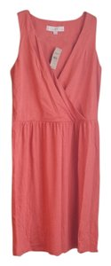 Ann Taylor LOFT short dress coral Summer on Tradesy