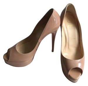 Christian Louboutin Paris Pump Formal Stiletto Nude Pumps