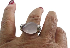 John Hardy John Hardy - Kali Rose Quartz and Pink Sapphire Ring, Size 7