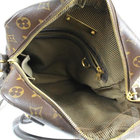 Louis Vuitton Leather Tote Large monogram Messenger Bag