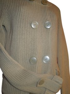 Talbots Sweater 100% Mercerized Cotton Cotton Button Pockets Long Sleeve Mocha Paypal Cardigan