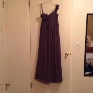 Alfred Angelo Gray Dress
