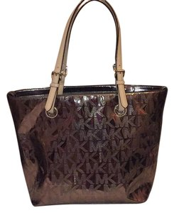 MICHAEL Michael Kors Tote in Metallic Bronze