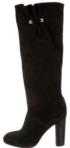 Tory Burch Suede Black Boots