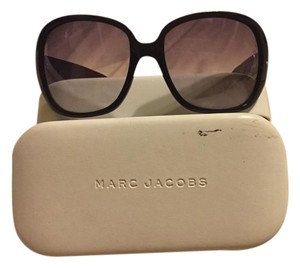 Marc Jacobs marc Jabos oversized tinted black glasses