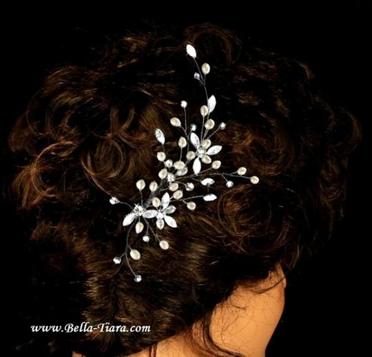 Preload https://item4.tradesy.com/images/bella-tiara-silver-pearl-elegant-and-crystal-spray-hair-accessory-1721693-0-0.jpg?width=440&height=440