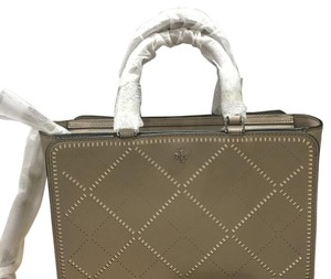 Tory Burch French Gray Travel Bag