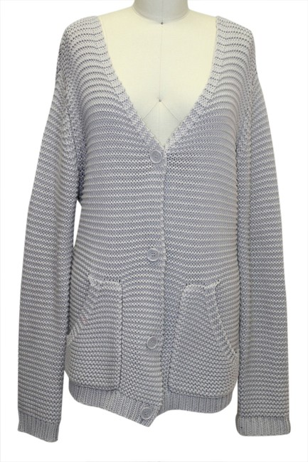 Preload https://item1.tradesy.com/images/heather-gray-buttoned-knit-shawl-cardigan-size-4-s-1721730-0-0.jpg?width=400&height=650