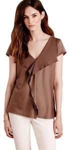 Anthropologie Top Taupe