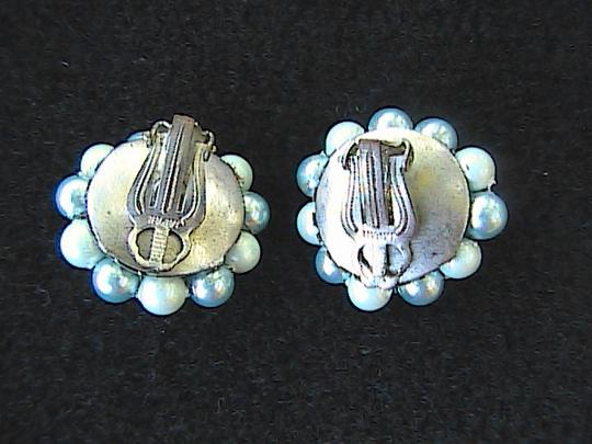 Other Vintage Faux Pearl Clip ON Earrings