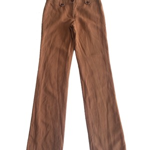 Tory Burch Wide Leg Pants Tan