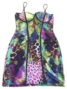 Other Pencil Party Summer Snakeskin Dress