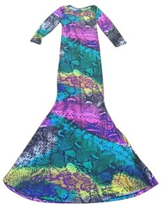 Other Mermaid Summer Party Scoop Back Drape Dress