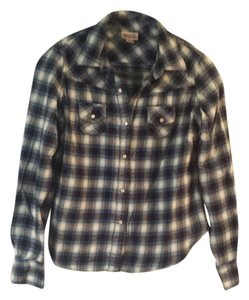 Mossimo Supply Co. Plaid Button Down Shirt