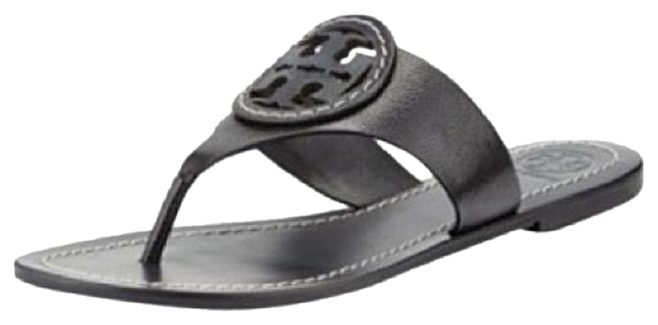Tory Burch Burch Tory Black Louisa Thong Sandals 570ee8