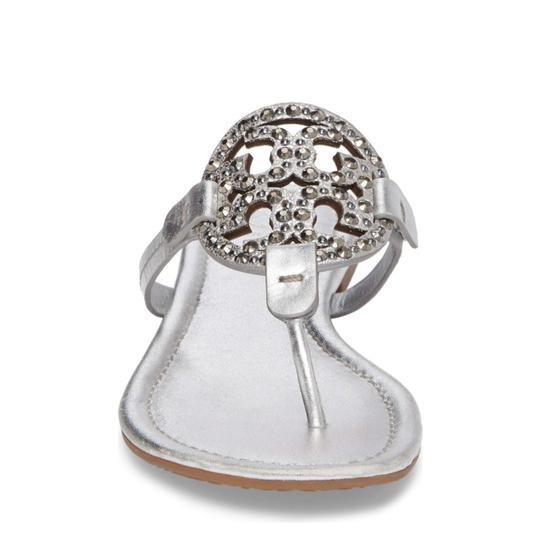 Tory Burch Silver Sandals Image 5