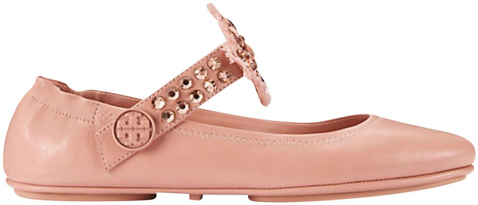 218525212356 Tory Burch Blush Minnie Two Way Ballet Flats Size US 8.5 Regular (M ...