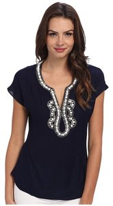 Lilly Pulitzer Details Top Navy