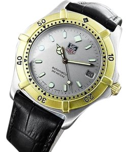 TAG Heuer Tag Heuer 2000 Automatic Mens Diver Watch, 665.006F - Stainless Steel & 18K Gold Plated