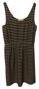 Ann Taylor LOFT short dress Black/White on Tradesy