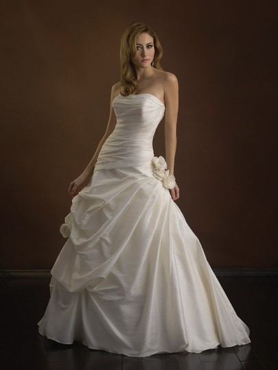 Diamond White P862x Sexy Wedding Dress Size 4 (S)