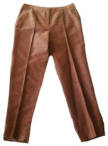 Worth Dress Classic New Designer Trouser Pants Orange
