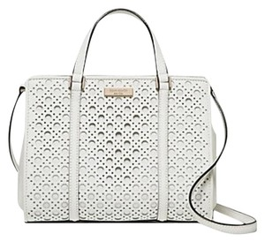Kate Spade Romy Tote Satchel in White