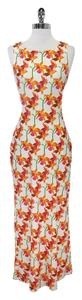 Maxi Dress by Escada Floral Open Back Maxi Maxi