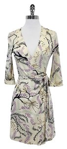 Missoni short dress Branch Fern Silk Wrap on Tradesy