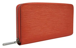 Louis Vuitton LOUIS VUITTON Zippy Wallet EPI Poppy M61548
