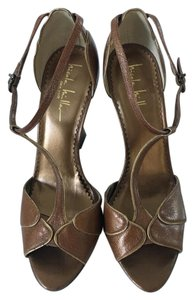 Nicole Miller Brown Sandals