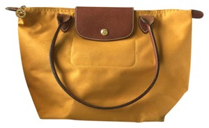 Longchamp Tote in Mustard