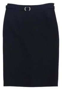 Ralph Lauren Black Wool Pencil Skirt