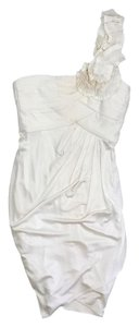 BCBGMAXAZRIA short dress Cream One on Tradesy