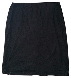 Xhilaration Skirt Black, gold