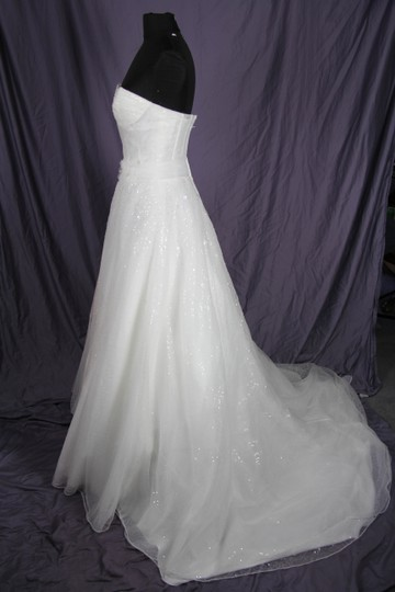 Coco Anais Ivory Tulle and Lace An157 Modern Wedding Dress Size 6 (S)