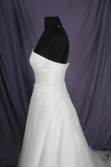 Coco Anais Ivory Tulle and Lace An157 Modern Dress Size 6 (S)
