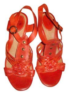 Frye Burnt Orange Sandals