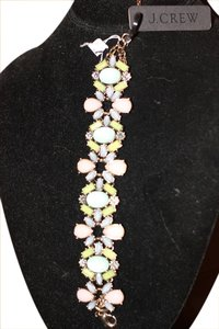 J.Crew J Crew Amazing Stone Work Bracelet New With Tags!