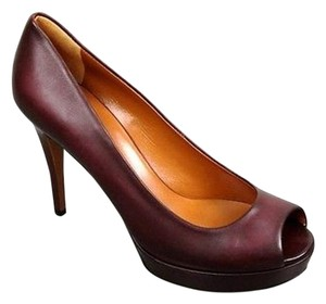 Gucci Betty Platform 297203 Plum Pumps