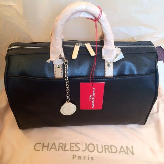 Charles Jourdan Satchel in Black