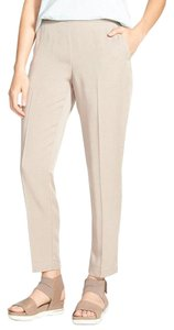 Eileen Fisher Capri/Cropped Pants Limestone