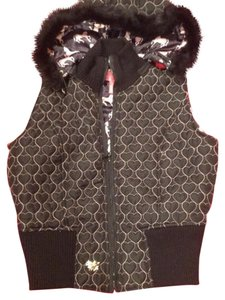 Betsey Johnson Vintage Faux Fur Vest