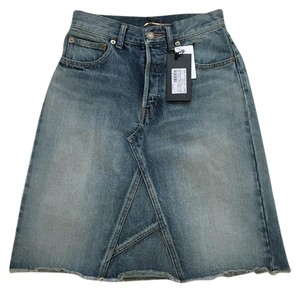 Saint Laurent Skirt Denim