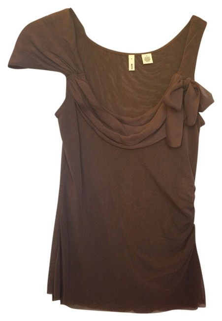 Preload https://item4.tradesy.com/images/anthropologie-brown-blouse-size-4-s-1722423-0-0.jpg?width=400&height=650