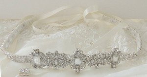 Other Bridal Gown Dress Crystal Embellishment Trim Sash Belt