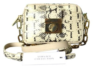 Versace Snake Cross Body Bag