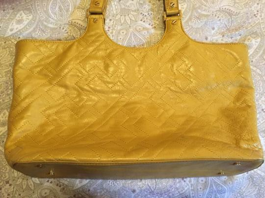 Tory Burch Tote in Yellow Image 4